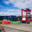 Containerhafen in Las palmas — Stockfoto