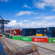 Stock Photo: Container port in Las Palmas