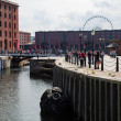 Liverpool, Albert dock on a summer day — Stock Photo