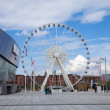 Liverpool, observation wheel close to Albert dock — Stock Photo #13511578