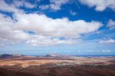 Central Fuerteventura, view from El Pinar — Stock Photo