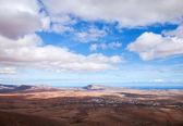 Fuerteventura central, vista de el pinar — Fotografia Stock