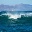 Fuerteventura, breaking waves — Stock Photo