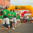 CORRALEJO - NOVEMBER 03: Runners assemble before the race at Fo — Stock Photo
