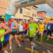 Royalty-Free Stock Photo: CORRALEJO - NOVEMBER 03: Runners start the race at Fourth intern