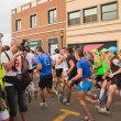CORRALEJO - NOVEMBER 03: Runners start the race at Fourth intern — Stock Photo #14402131