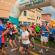 CORRALEJO - NOVEMBER 03: Runners start the race at Fourth intern — Photo