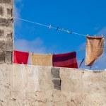 Laundry abstract — Stock Photo