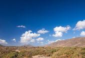 Central Fuerteventura, east coast — Stock Photo