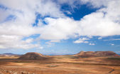 Binnenland fuerteventura — Stockfoto