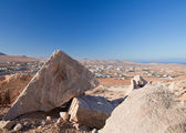 Inland Fuerteventura, trachyte at Tindaya — Stock Photo