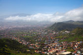 North-east of Tenerife, view from Mirador Jardina — Stock Photo