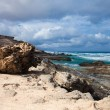 Stock Photo: Eroded west coast of Fuerteventura