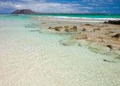 Northern Fuerteventura, Corraejo Flag beach — Stock Photo