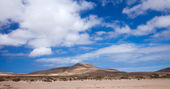 Inland Northern Fuerteventura — Stock Photo