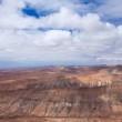 Inland Northern Fuerteventura, view from Montana de Ecanfraga — Stock Photo