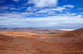 Inland Northern Fuerteventura, view from Montana de Ecanfraga — Photo