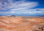 Inland Fuerteventura, view towards Montana de Arena — Stock Photo