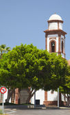 Inland Central Fuerteventura, church in Antigua — Stock Photo