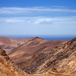 Fuerteventura, mountain road between Betancuria and Pajara — Stock Photo