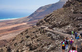 Southern Fuerteventura hiking — Stock Photo