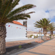 Stock Photo: Northern Fuerteventura, church in Lajares