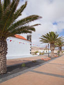 Northern Fuerteventura, church in Lajares — Stock Photo