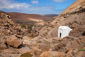 Central Fueretventura, Barranco de las Penitas — Stock Photo