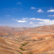 Central Fuerteventura, valley of Betancuria — Stockfoto