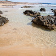 Northern Fuerteventura, Playa del Castillo beach — Stock Photo