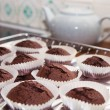 Chocolate mini-muffins — Stock Photo #32018249