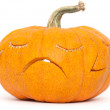 Sad pumpkin — Stock Photo