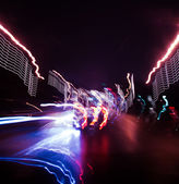 Moving cars abstract — Stock Photo