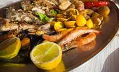 Fish platter — Stock Photo
