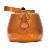 Chaleira de cobre vintage — Fotografia Stock