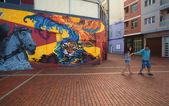 Las Palmas de Gran Canaria, Street art — ストック写真