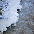Freezing river — Stock Photo #38917287