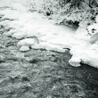 Freezing river — Stock Photo #38917317