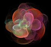 Bubbly flower fractal  — Stock Photo