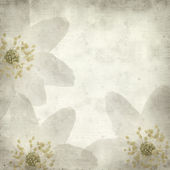 Textured old paper background with — Stockfoto