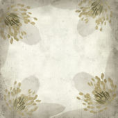 Textured old paper background with — Stok fotoğraf