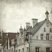 Gestructureerde oud papier achtergrond — Stockfoto