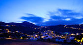 Gran Canaria, village of Marzagan, evening light — Stok fotoğraf