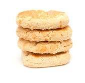 Traditional canarian soft biscuits of butter and almonds, — Stock Photo