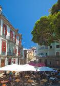 La Vegueta, old town part in Las Palmas de Gran Canaria — Stock Photo