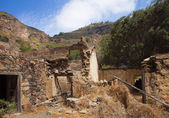 Gran Canaria, Caldera de Bandama, abandoned farm — Stock Photo