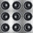 Stock Photo: Loudspeakers