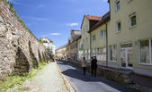 Street in Meissen, Germany — Stock Photo