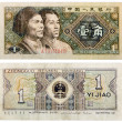 1 Chinese Yuan sample 1980 — Stock Photo