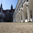 Langer Gang - part of the architectural complex of the Dresden palace-residence — Stock Photo